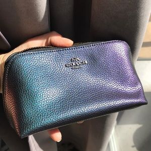 Coach Hologram cosmetics bag/accessories pouch